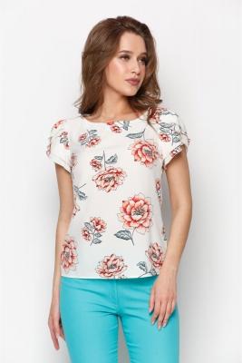 Блузка Мелисса №29 (цветы)