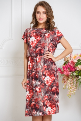 Платье Мария №24 (вискоза)