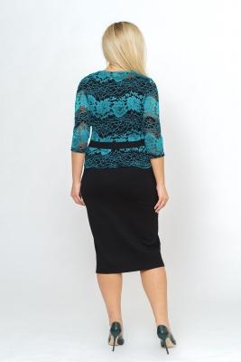Платье с гипюром №11