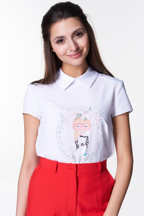 Блузка Лариса №20