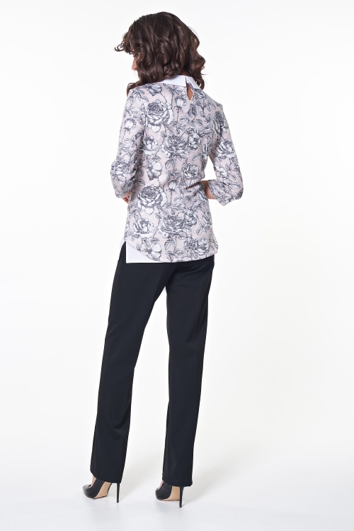 Блузка Баффи (цветы) №1