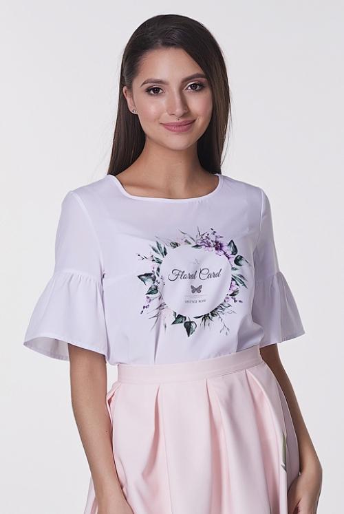 Блузка Флора №8