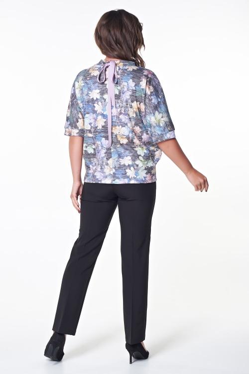 Блузка Андре (цветы) №2