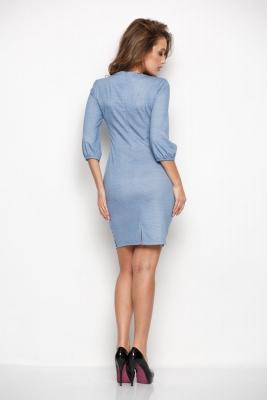 Платье Скарлет №15 (джинса)