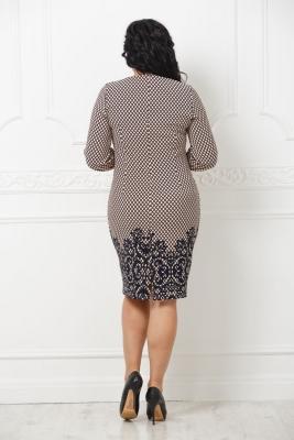 Платье Скарлет №6 (ромб)