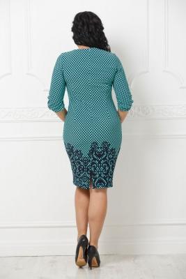 Платье Скарлет №7 (ромб)