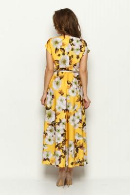 Платье Дарья (цветы) №2