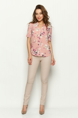 Рубашка Люси №3 (цветы)