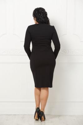 Платье Осень №1-черный