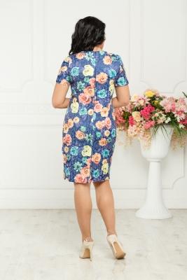Платье Ассоль (цветы) №6