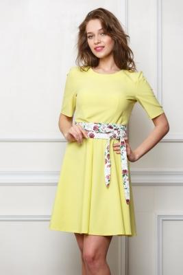 Платье Ксения с поясом №1