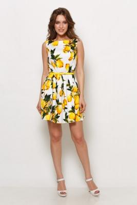 Платье Карамель №9 (лимоны)