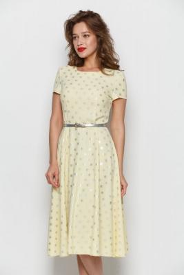 Платье Анна (круги) №1