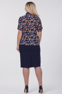 Рубашка Николь №3 (цветы)