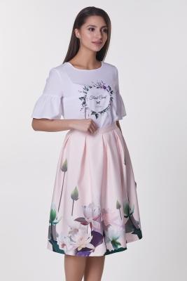 Юбка Ника №10 (цветы)
