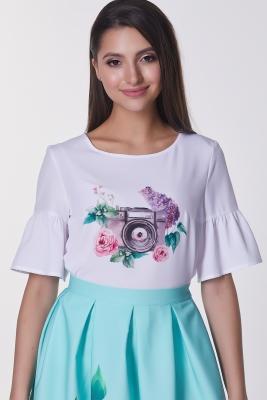 Блузка Флора №7