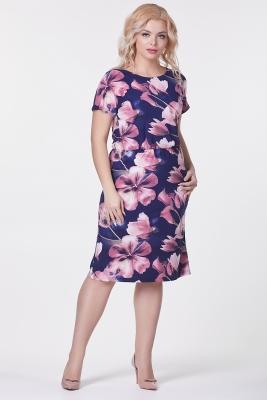 Платье Мария №30 (крупный цветок)