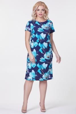 Платье Мария №29 (крупный цветок)