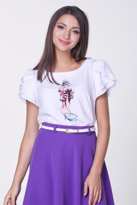 Блузка Мелисса Принт №4