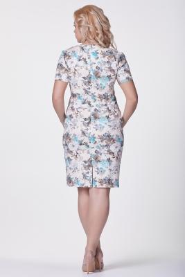 Платье Ассоль (цветы) №11