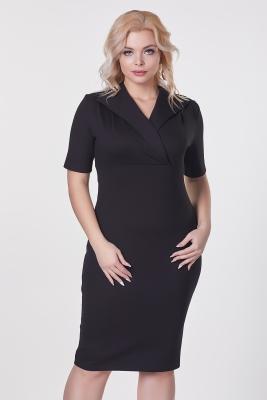 Платье Осень №4 (Апаш)-черный