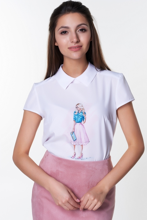 Блузка Лариса №18